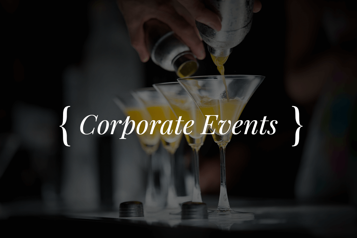 Corporate Events - Mobile Bar Hire - Boston Shakers
